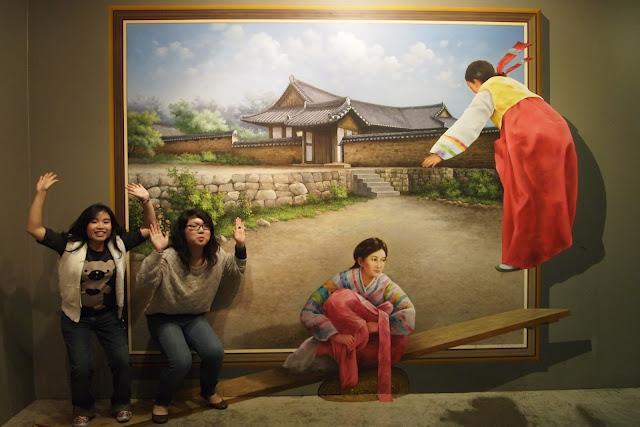 Museus de ilusões ópticas na Coréia do Sul 04