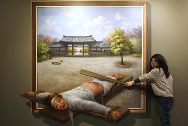 Museus de ilusões ópticas na Coréia do Sul 24