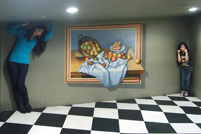 Museus de ilusões ópticas na Coréia do Sul 36