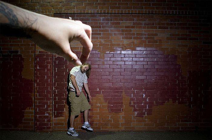 Incríveis fotografias de perspectiva forçada 41
