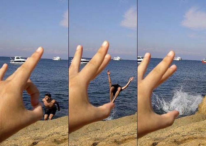 Incríveis fotografias de perspectiva forçada 40