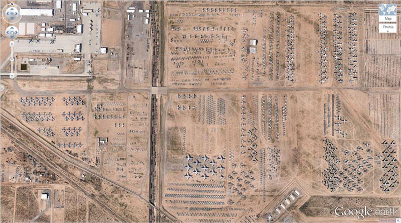 50 descobertas surpreendentes no Google Earth 01