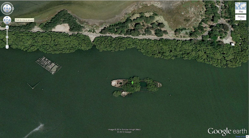 50 descobertas surpreendentes no Google Earth 06