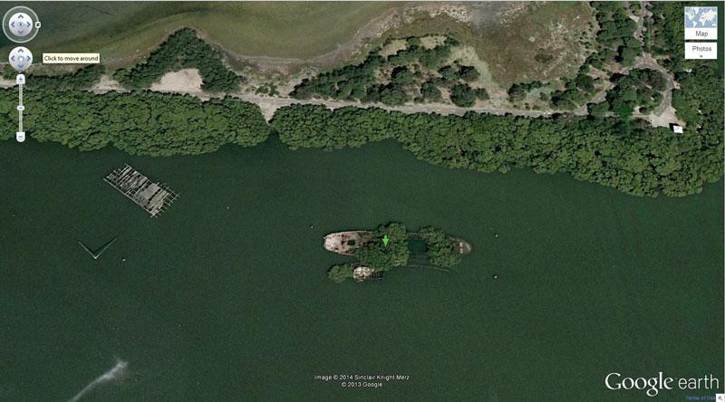 50 descobertas surpreendentes no Google Earth 06