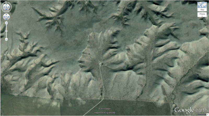50 descobertas surpreendentes no Google Earth 07