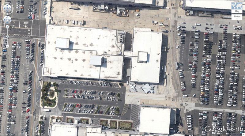 50 descobertas surpreendentes no Google Earth 08