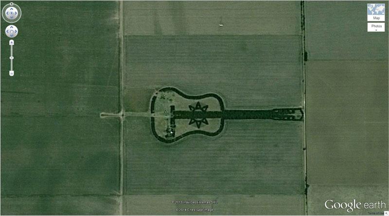50 descobertas surpreendentes no Google Earth 10