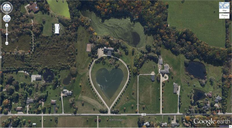 50 descobertas surpreendentes no Google Earth 11