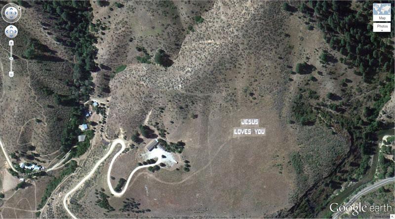 50 descobertas surpreendentes no Google Earth 15