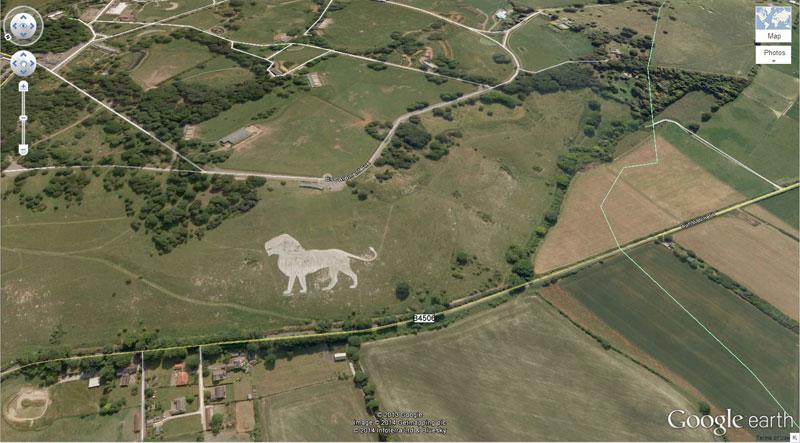 50 descobertas surpreendentes no Google Earth 16