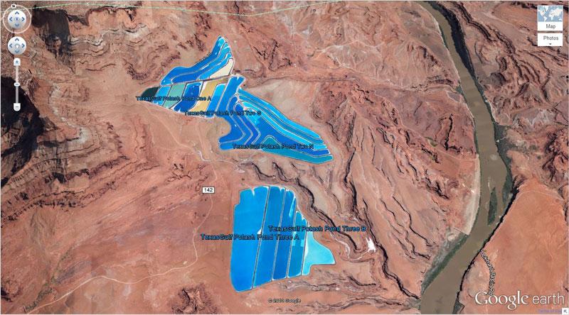 50 descobertas surpreendentes no Google Earth 19