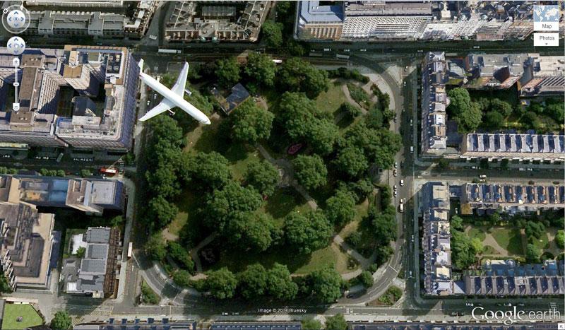 50 descobertas surpreendentes no Google Earth 22