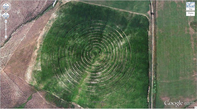 50 descobertas surpreendentes no Google Earth 24