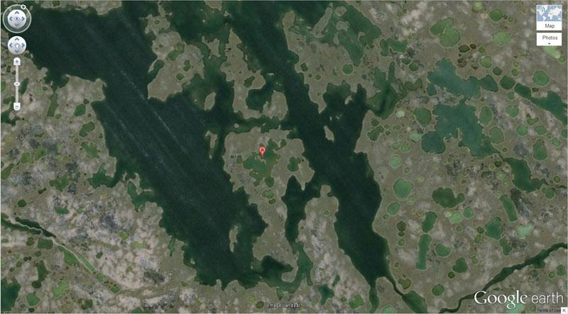 50 descobertas surpreendentes no Google Earth 25