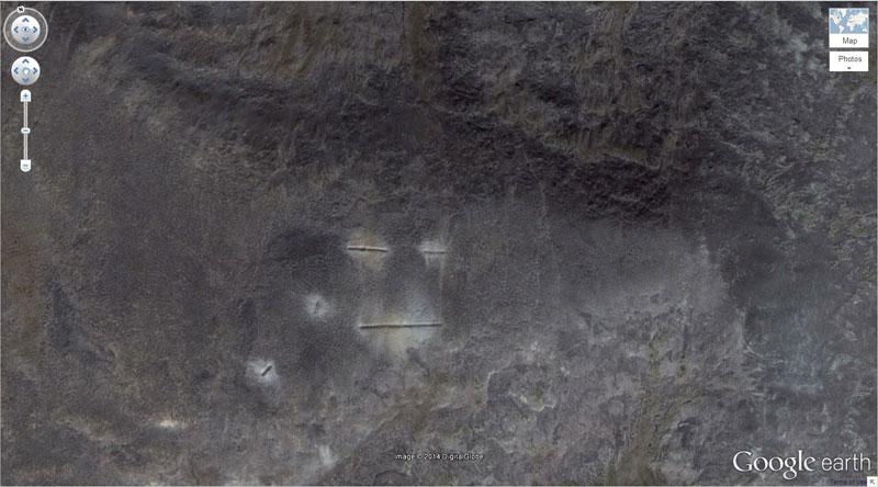 50 descobertas surpreendentes no Google Earth 28