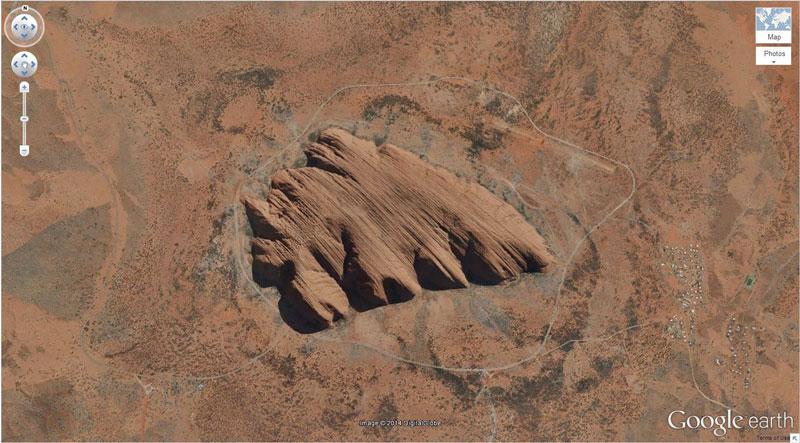 50 descobertas surpreendentes no Google Earth 38