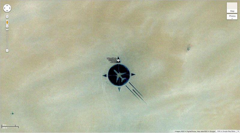 50 descobertas surpreendentes no Google Earth 40