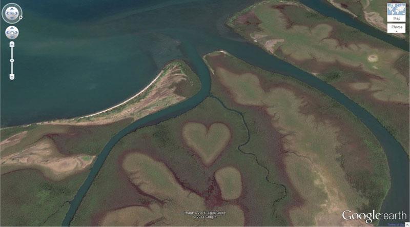 50 descobertas surpreendentes no Google Earth 41