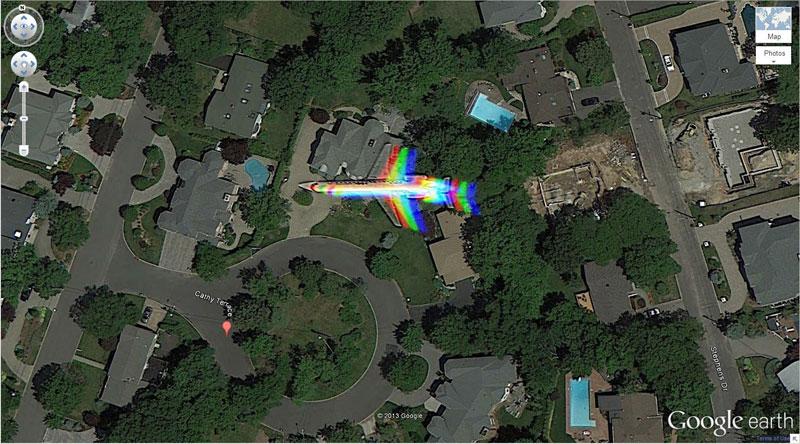 50 descobertas surpreendentes no Google Earth 42