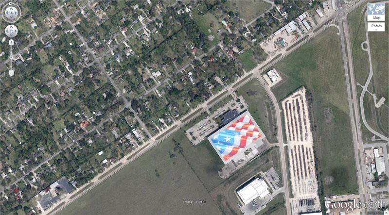 50 descobertas surpreendentes no Google Earth 47