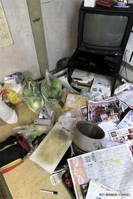 Dormitório estudantil japonês em ruínas 02