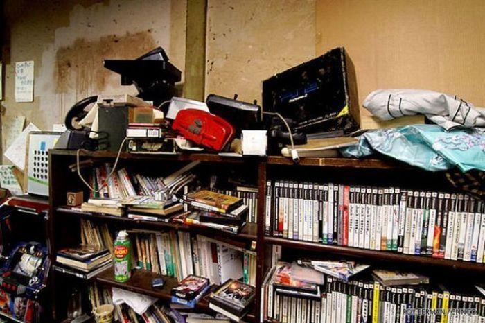 Dormitório estudantil japonês em ruínas 20
