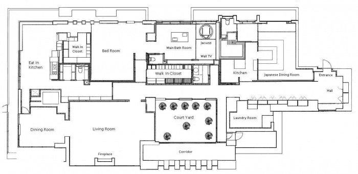 O mais caro apartamento de um dormit�rio do mundo 24
