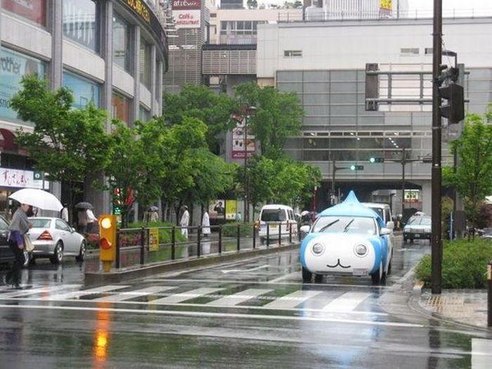 A extravagância da espalhafatosa juventude japonesa 57
