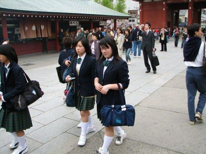 A extravagância da espalhafatosa juventude japonesa 61