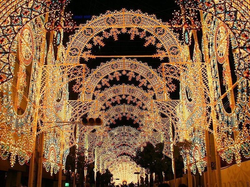 O festival de luz Kobe Luminarie, no Japão 02