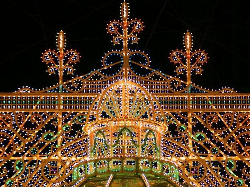 O festival de luz Kobe Luminarie, no Japão 06