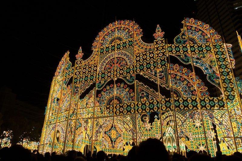 O festival de luz Kobe Luminarie, no Japão 11