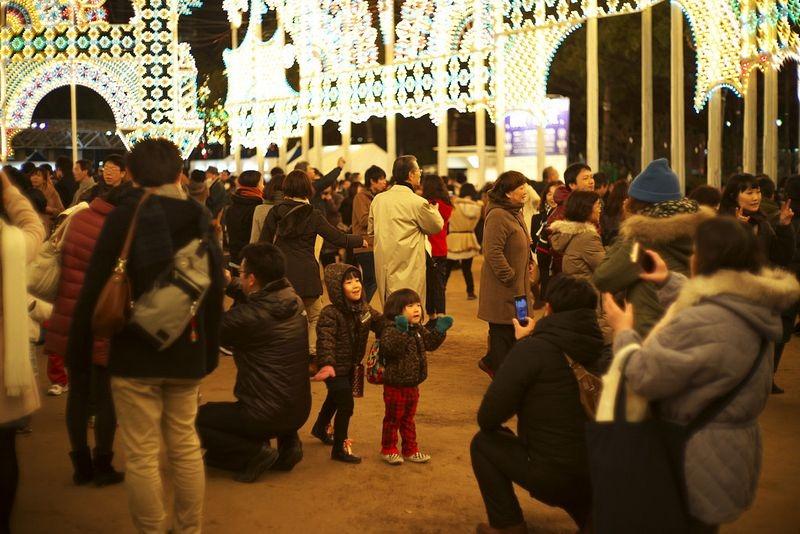 O festival de luz Kobe Luminarie, no Japão 12