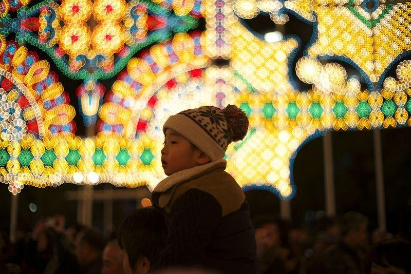 O festival de luz Kobe Luminarie, no Japão 14