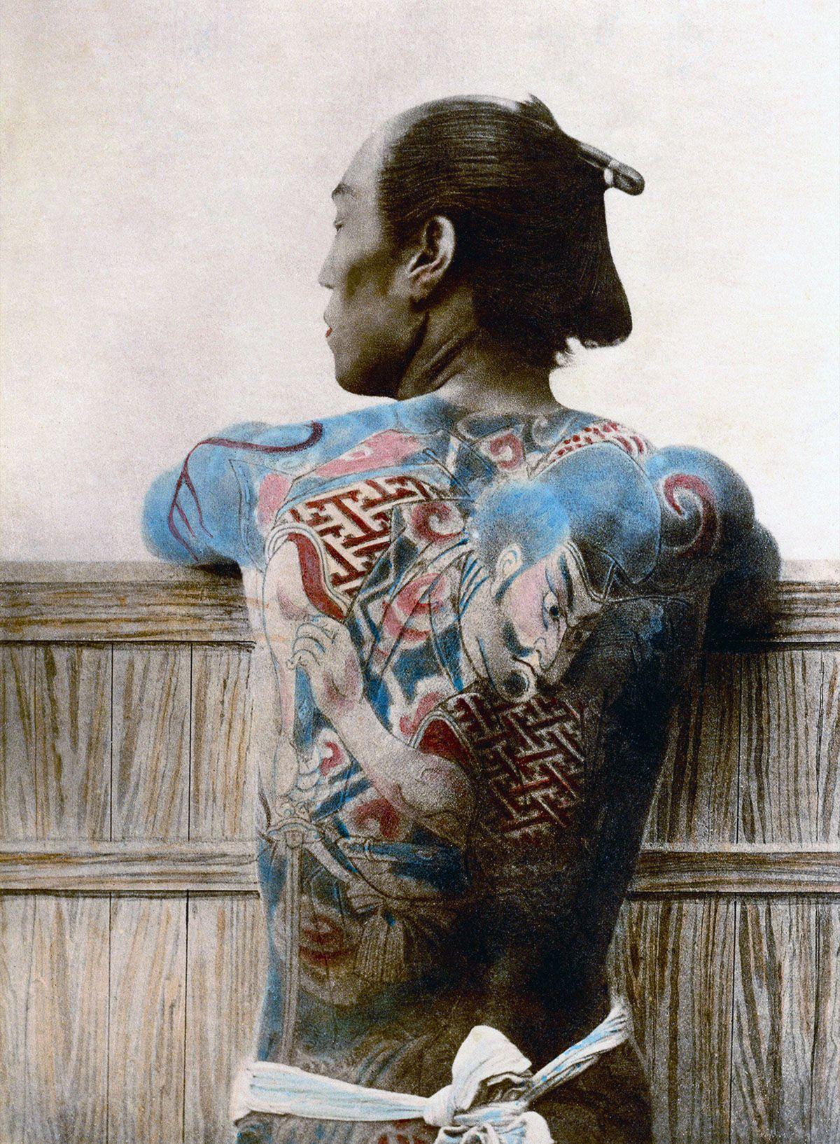 A vida e as tradições do Japão do século XIX em fotos colorizadas à mão 26