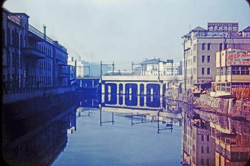 A vida no Japão no pós-Segunda Guerra Mundial através de imagens coloridas fascinantes 11