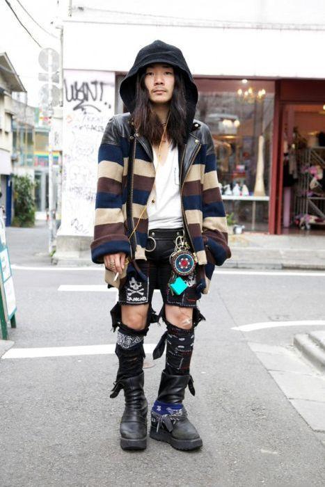 Japonês estranho com roupa esquisita 2 15