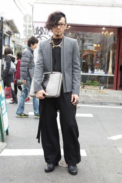Japonês estranho com roupa esquisita 2 23