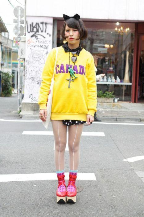 Japonês estranho com roupa esquisita 2 29