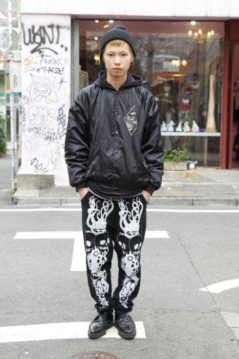 Japonês estranho com roupa esquisita 2 30