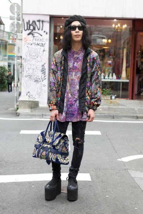 Japonês estranho com roupa esquisita 2 34