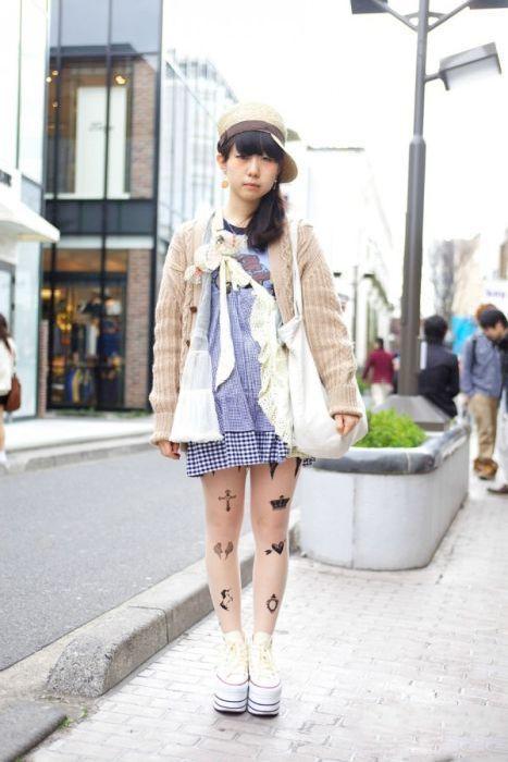 Japonês estranho com roupa esquisita 2 47