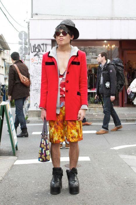 Japonês estranho com roupa esquisita 2 53