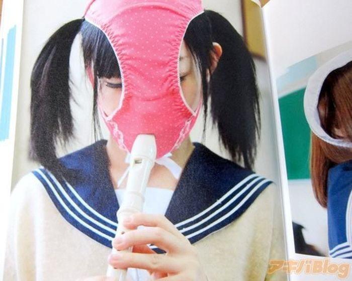 Kaopan, o novo fetiche japon�s: jovenzinhas com calcinhas na cara 07