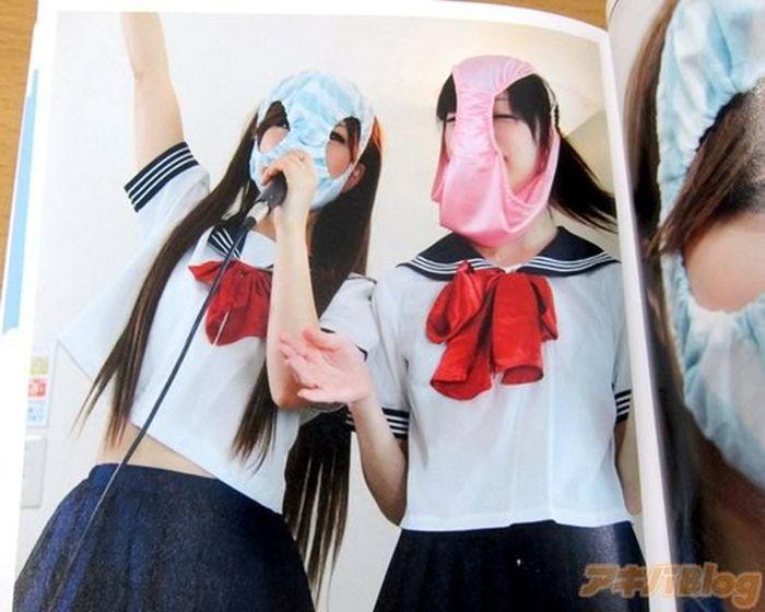 Kaopan, o novo fetiche japonês: jovenzinhas com calcinhas na cara 09