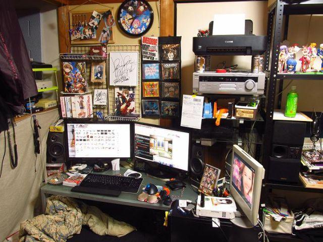 Casas de jovens geeks japoneses emancipados 01