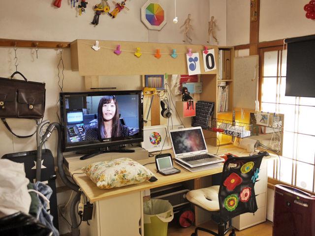 Casas de jovens geeks japoneses emancipados 02