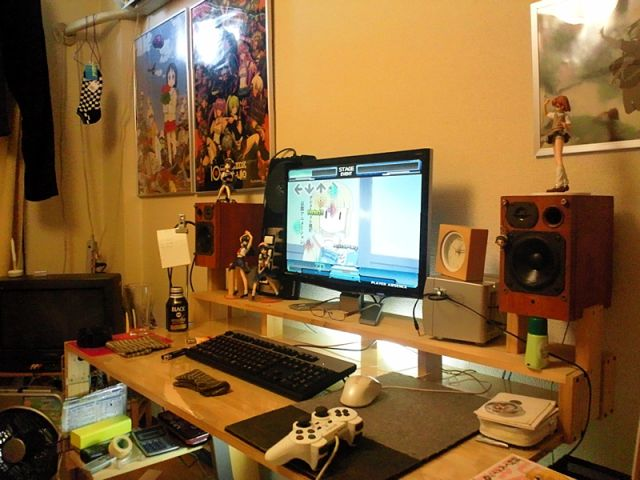 Casas de jovens geeks japoneses emancipados 12