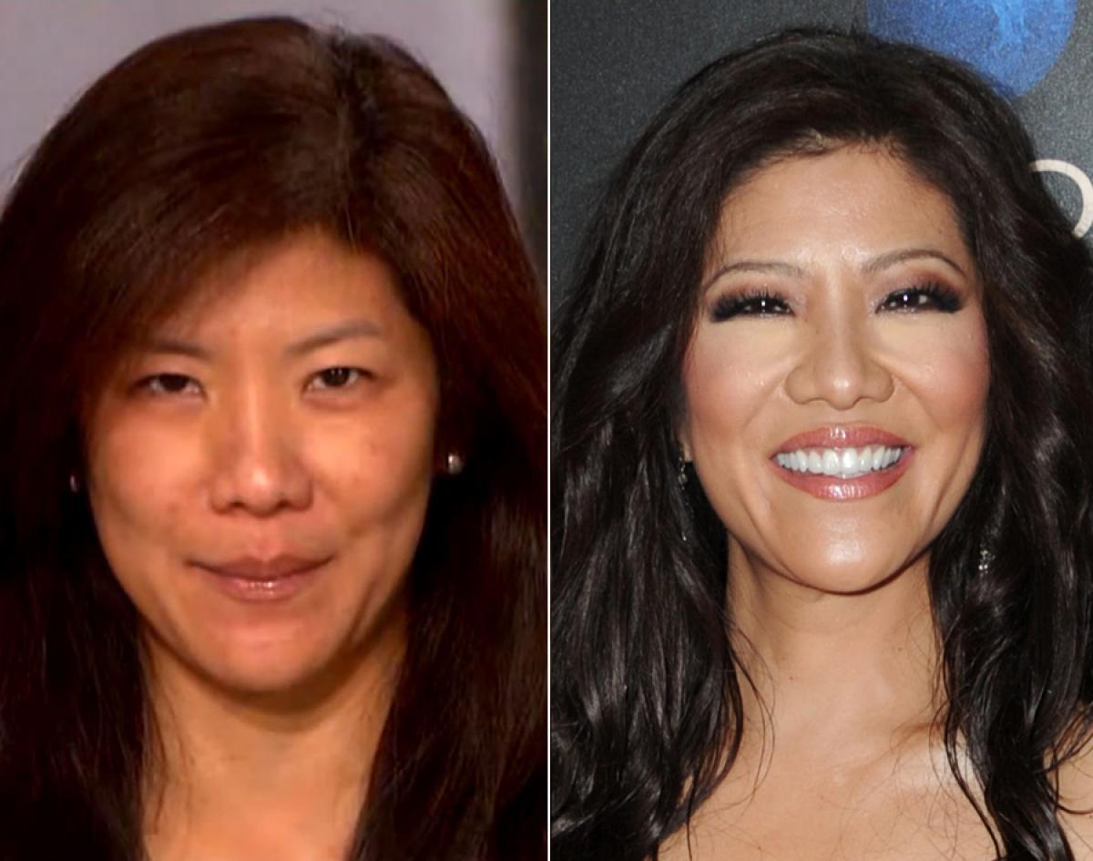 Celebridades com e sem maquiagem 42