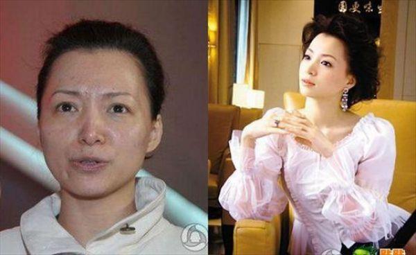 Mais antes e depois da maquiagem de garotas asiáticas 03